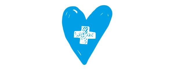 Corazón solidario. La Roche-Posay